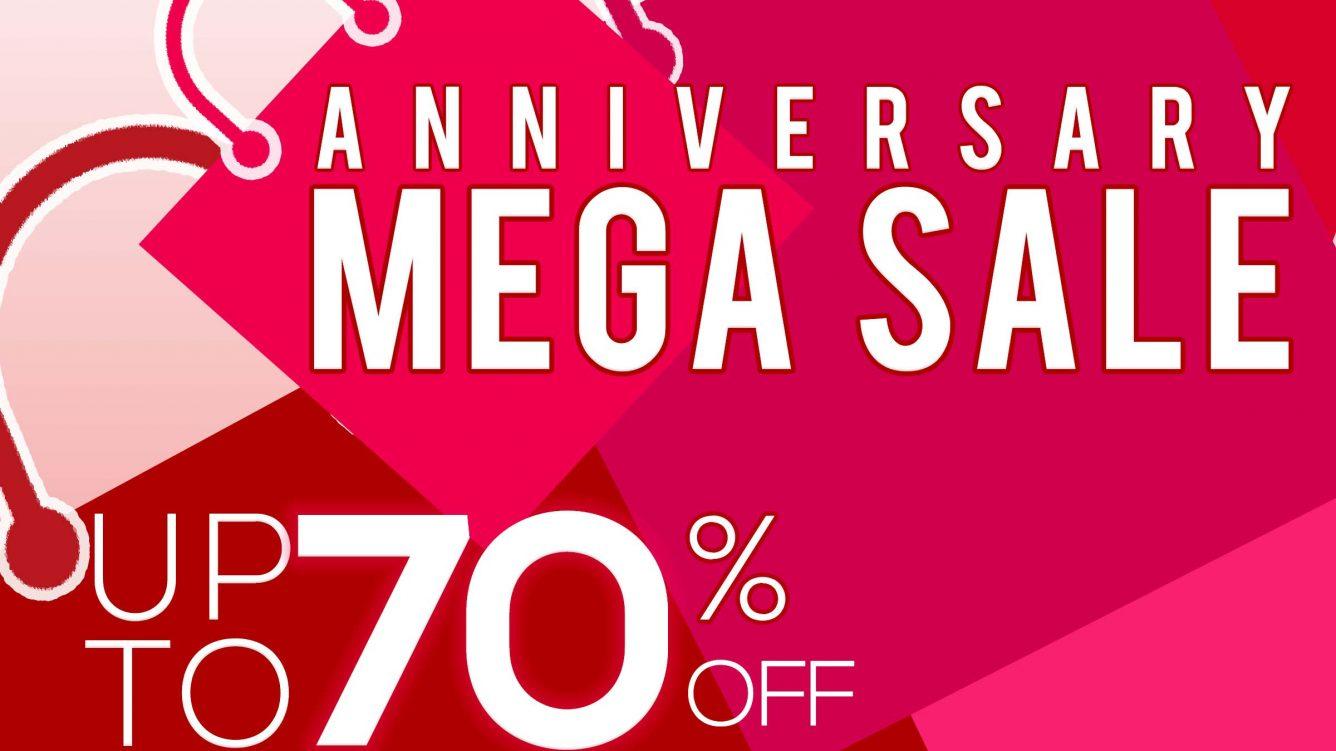 Anniversary Mega Sale